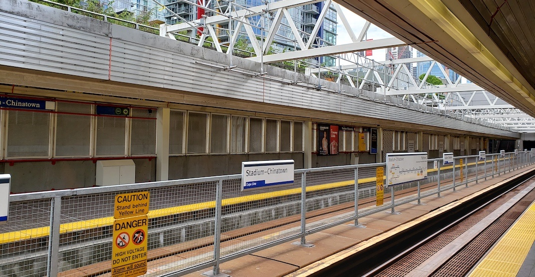 UPDATED: SkyTrain's Expo Line terminating at Stadium Station due to track safety issue