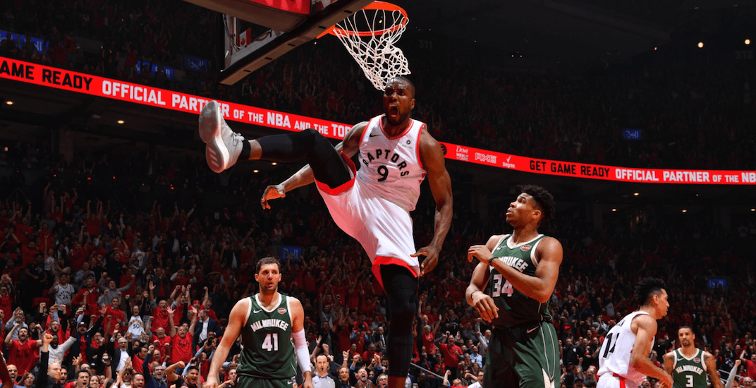 Raptors even series with dominant win over Milwaukee in Game 4
