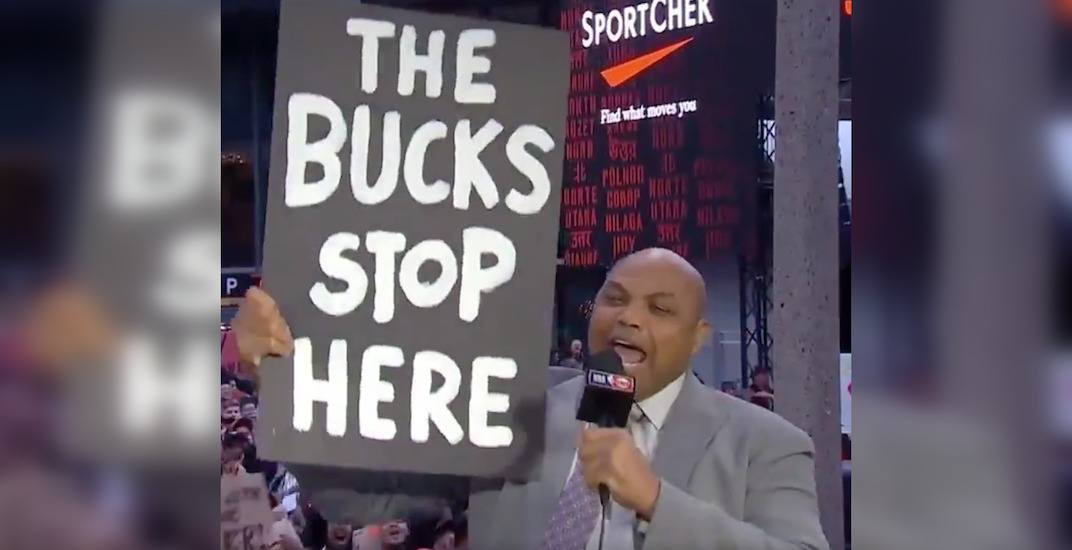 Charles Barkley successfully guarantees another Raptors playoff win (VIDEO)