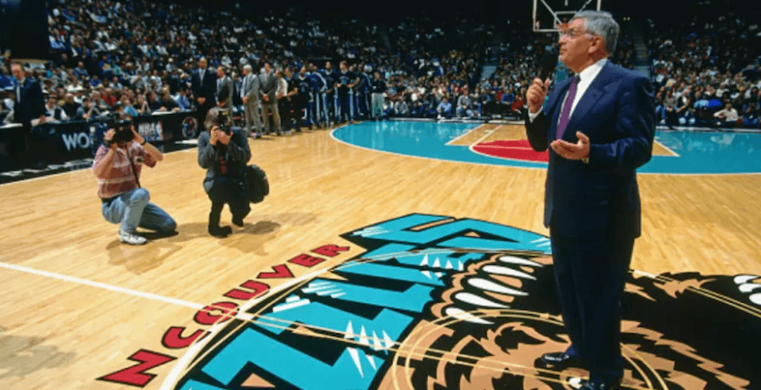 David stern vancouver grizzlies