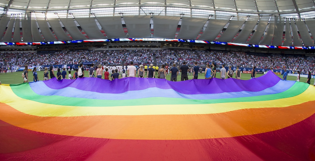 0bafafd74 Vancouver Whitecaps celebrate pride at BC Place this weekend