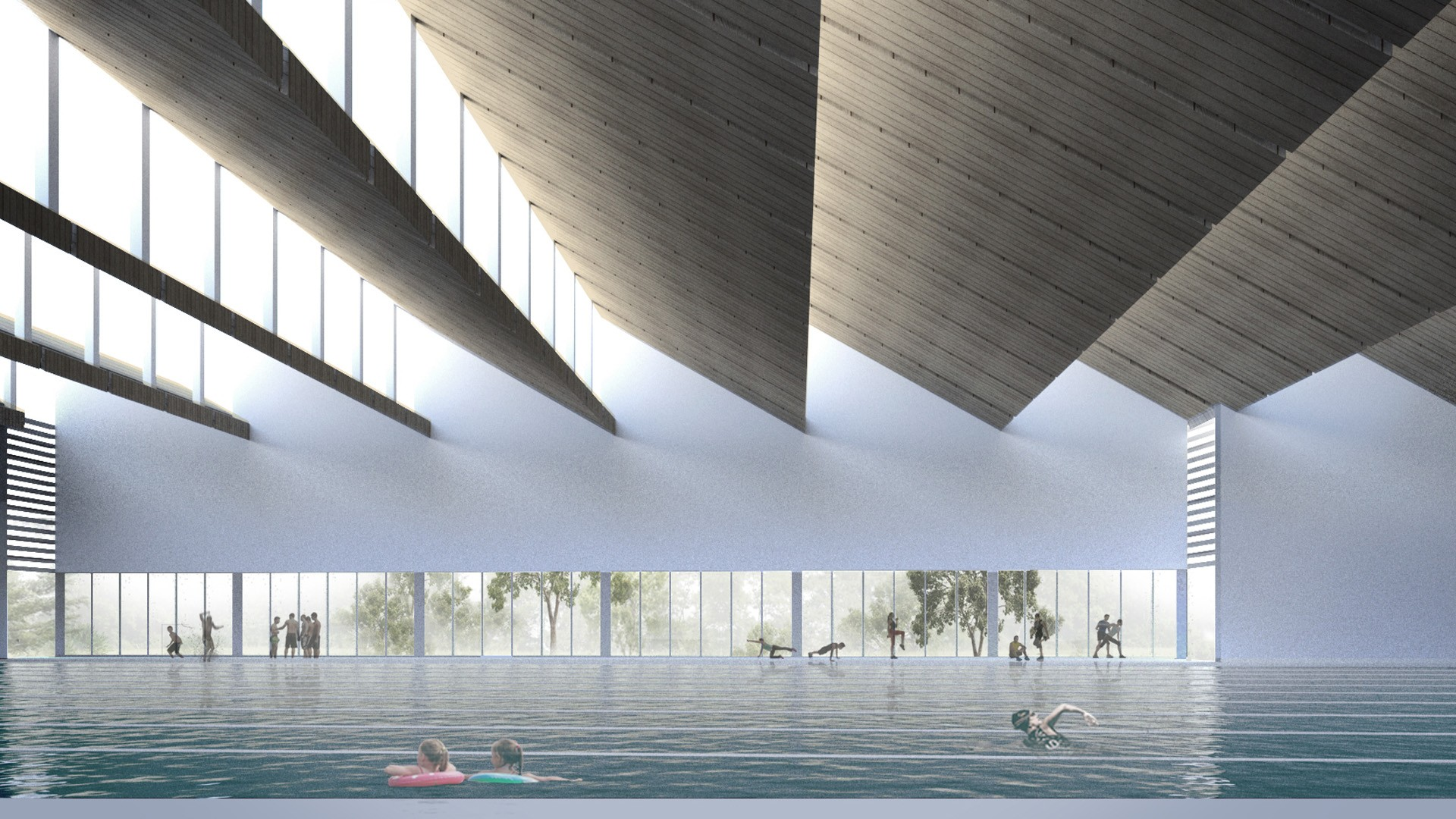 New Westminster aquatics and community centre