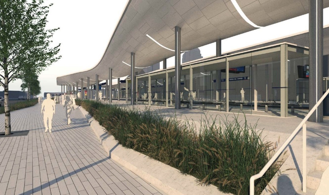 60 Million Complete Rebuild For Ctrain Station Serving