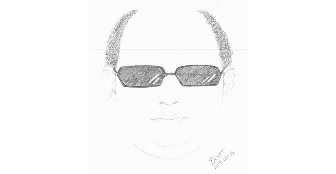 North vancouver exposure suspect sketch