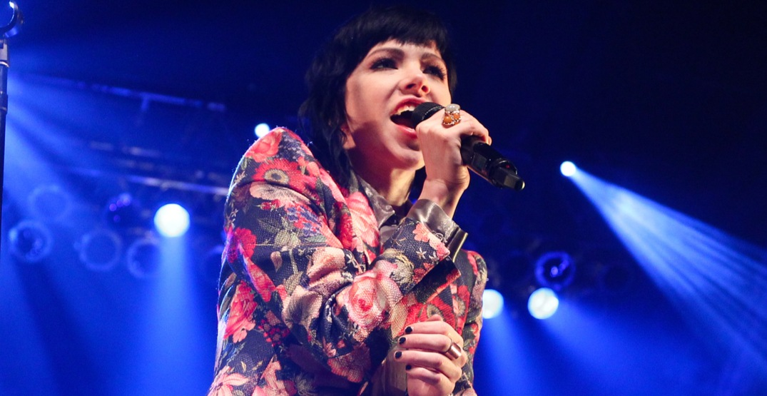 Carly Rae Jepsen will be performing in Montreal on September 12