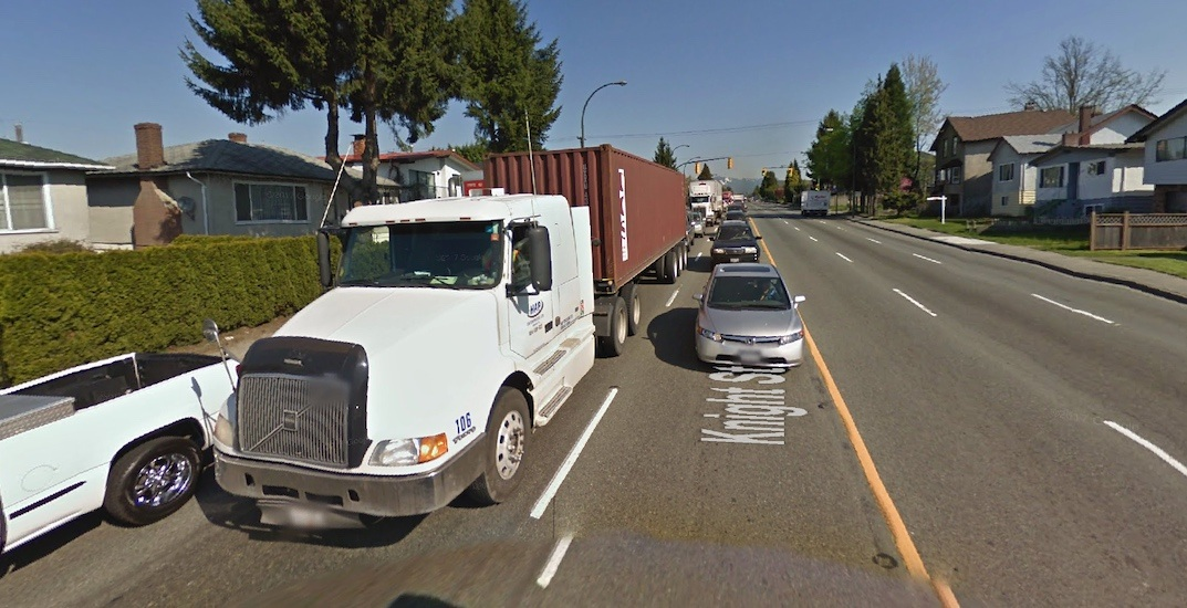 Vancouver councillor wants to reduce cargo truck pollution on Knight Street