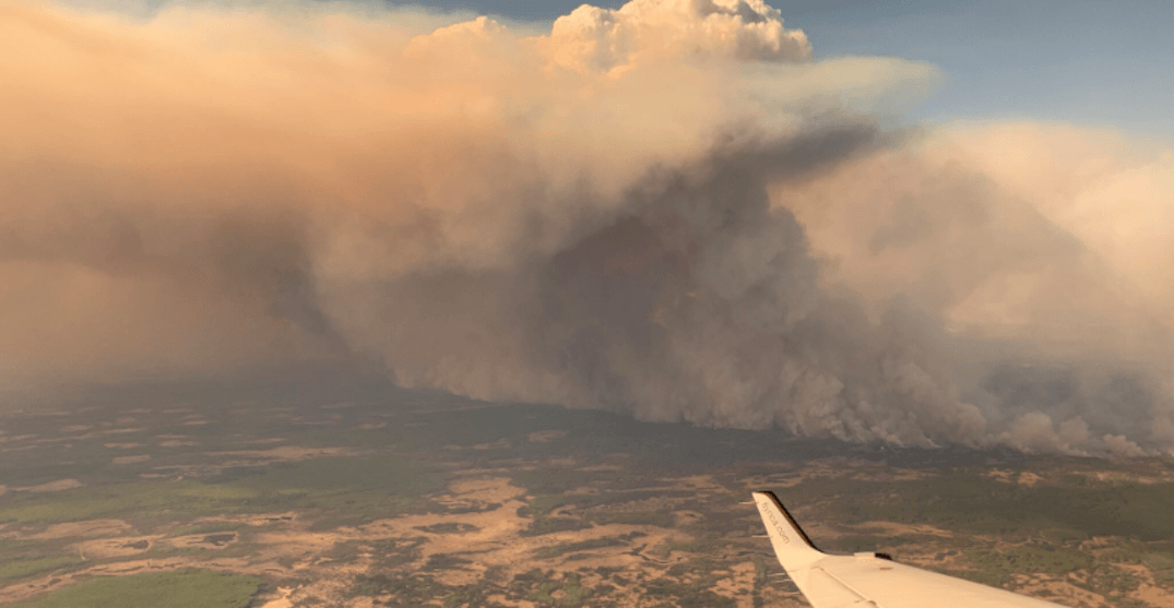Chuckegg Creek wildfire has grown by 22,000 hectares in just 24 hours