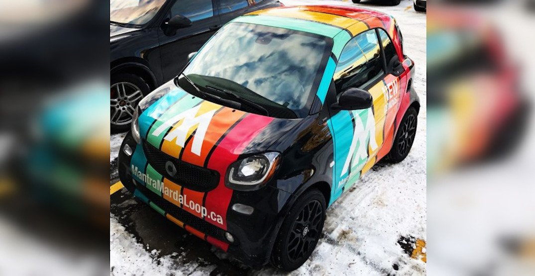 Marda Loop condo building's colourful communal car stolen