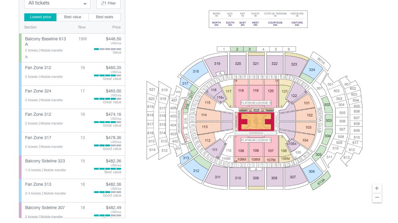 raptors game 6 ticket prices