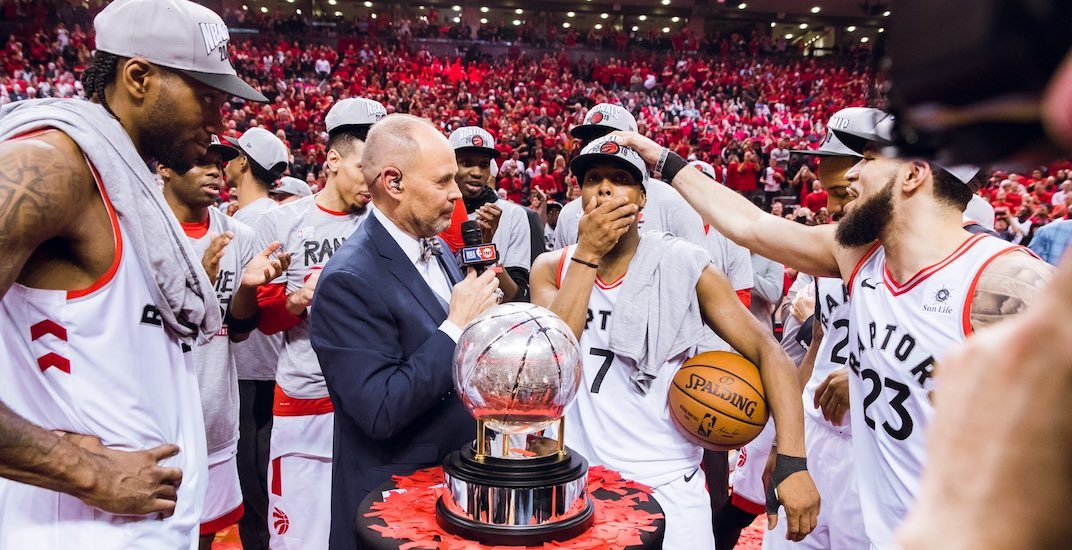 Raptors east champs