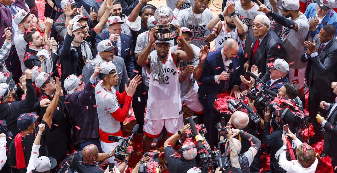 Raptors heading to NBA Finals for first time in team history