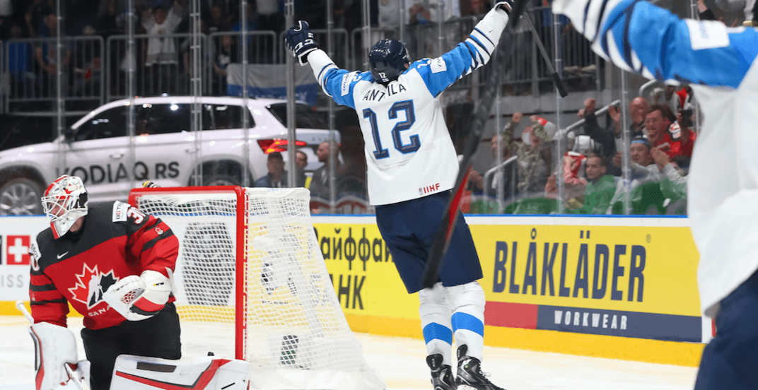 Finland stuns Canada in World Championship gold medal game