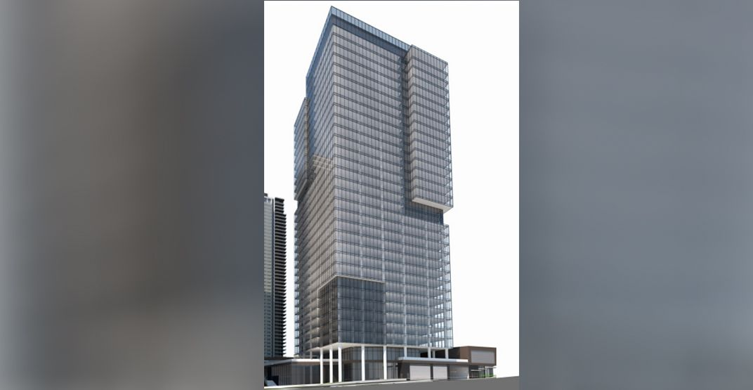 37-storey office tower proposed for Burnaby's Brentwood district