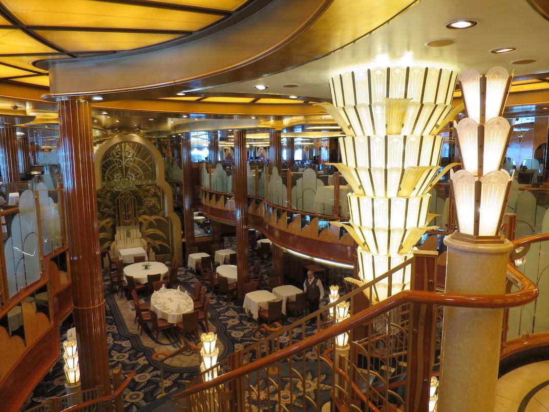 Cunard Queen Elizabeth cruise ship