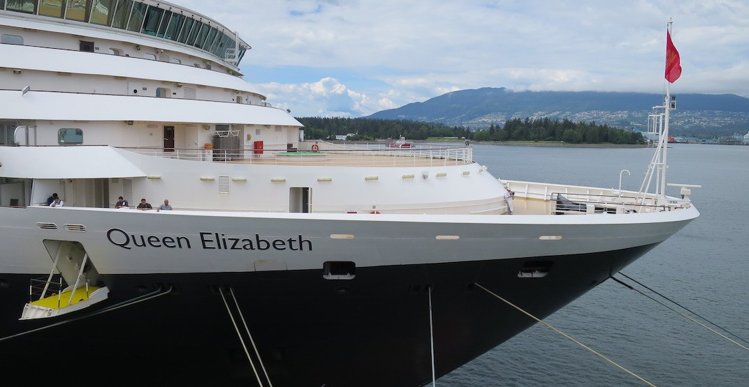 Legendary cruise line makes its return to Vancouver with the Queen Elizabeth (PHOTOS)