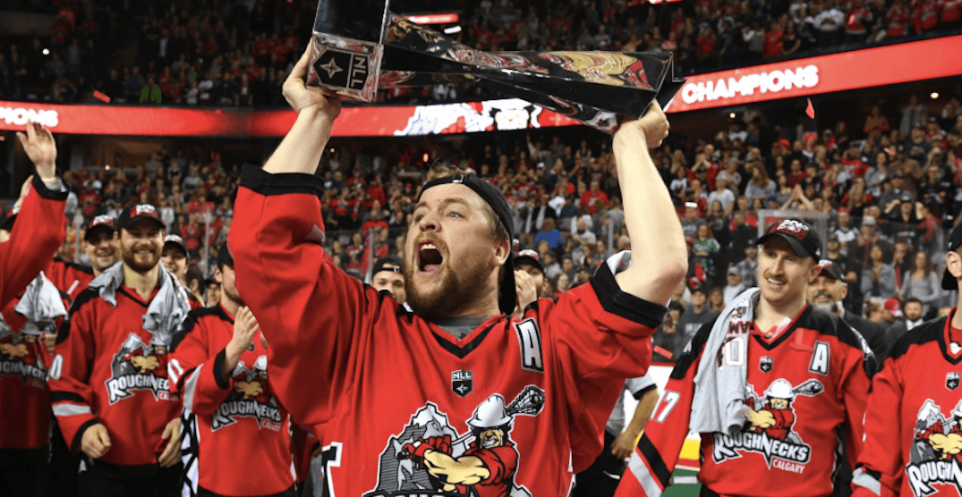 Calgary Roughnecks take NLL championship in overtime victory