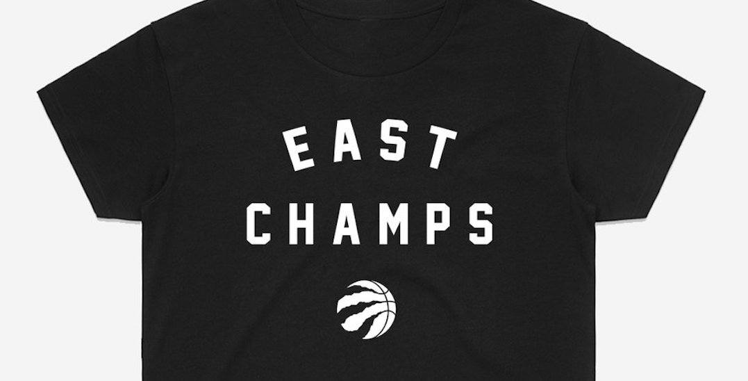 Win Raptors East Champs shirts for you and 3 friends from Peace Collective (CONTEST)