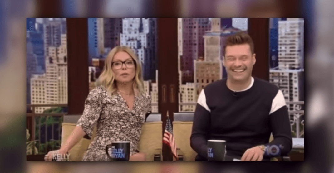 Kelly Ripa gushes about Vancouver Airport on Live with Kelly and Ryan