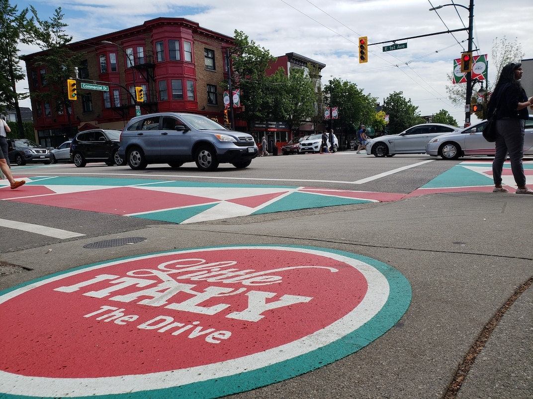 Commercial Drive intersections