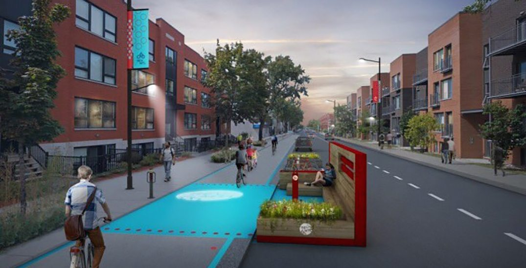 Montreal unveils route of city's massive new bike network (RENDERINGS)