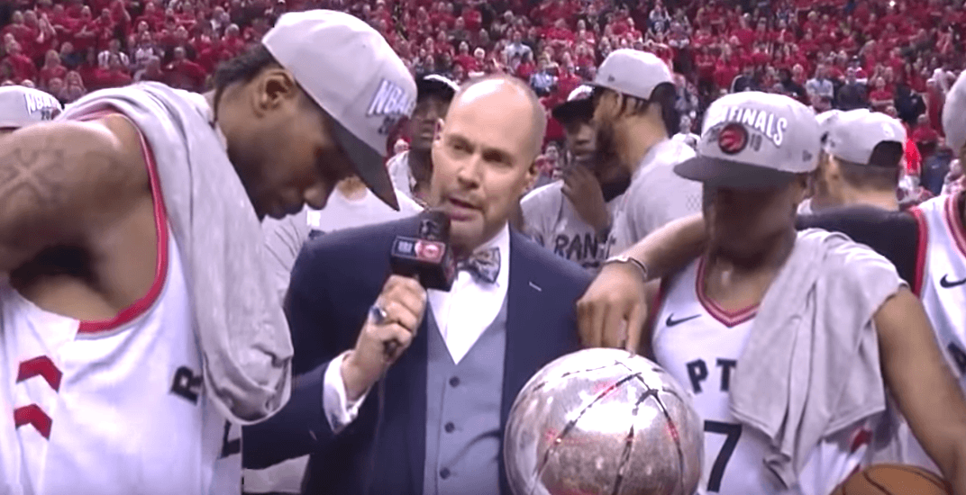 Kawhi Leonard was incredibly humble and classy after Raptors' win (VIDEO)