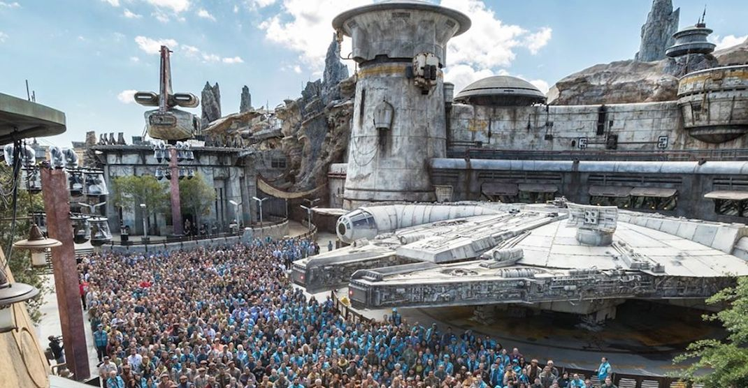 Disneyland's epic new Star Wars theme park opens this week (PHOTOS)