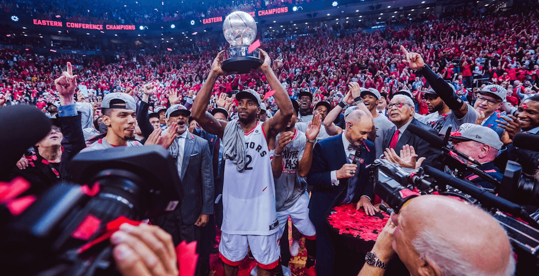 Canadian rapper drops new Toronto Raptors song for the NBA Finals