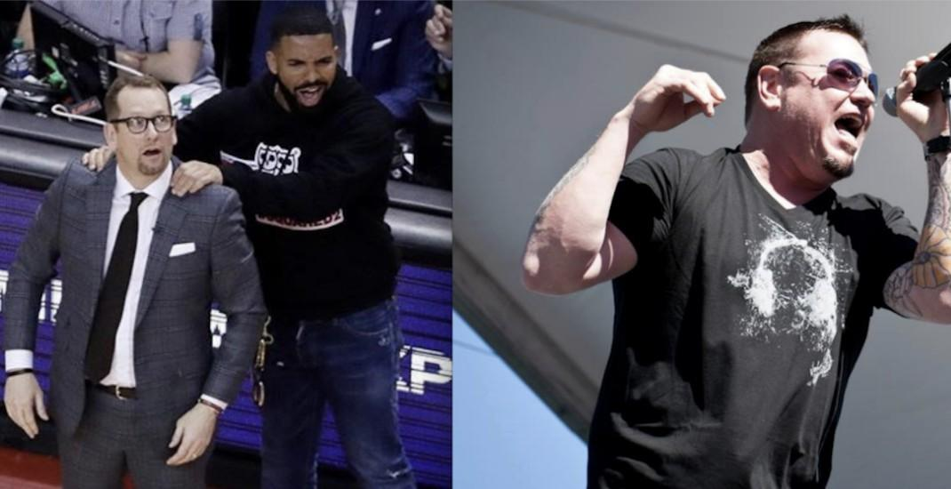 Smash Mouth comes at Drake for his sideline antics at Raptors games