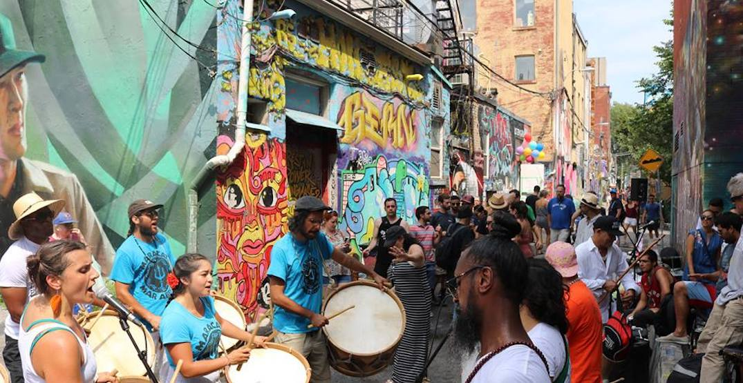 There's going to be a laneway party near Ossington this summer