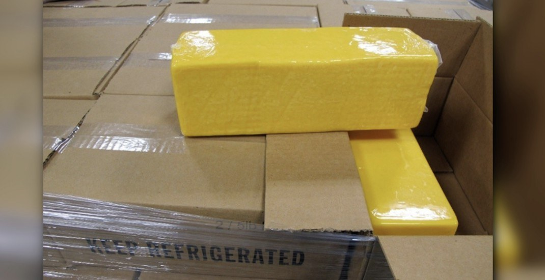 Trucker must pay $30K fine for smuggling 3,990 kg of cheese into Canada