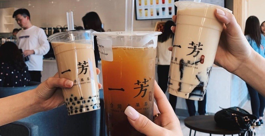 Taiwanese tea spot 'Yi Fang' has opened its new Burnaby location