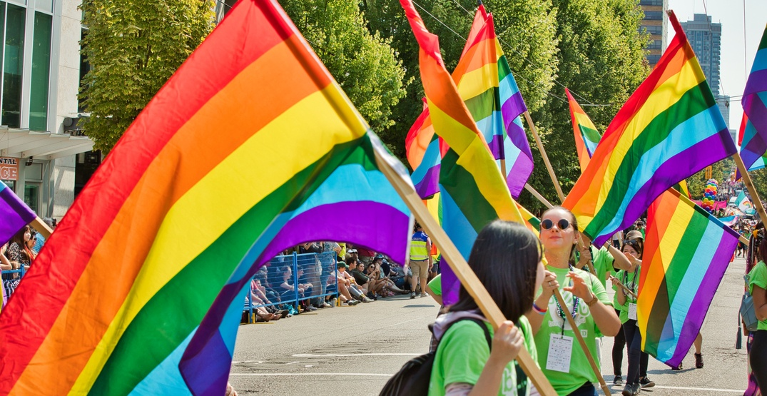 Celebrate at the post-parade Pride in the Park event next month