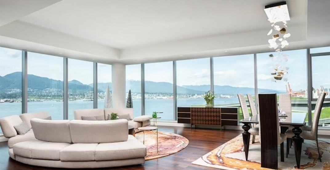 Take a tour inside the 5 most expensive condos for sale in downtown Vancouver (PHOTOS)