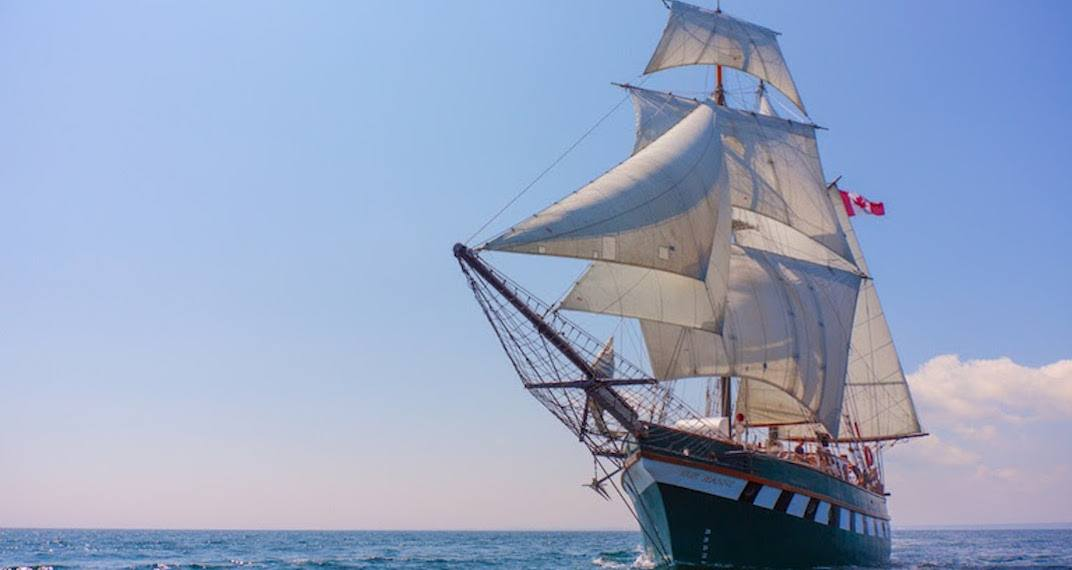 You can explore 12 majestic tall ships in Toronto this summer