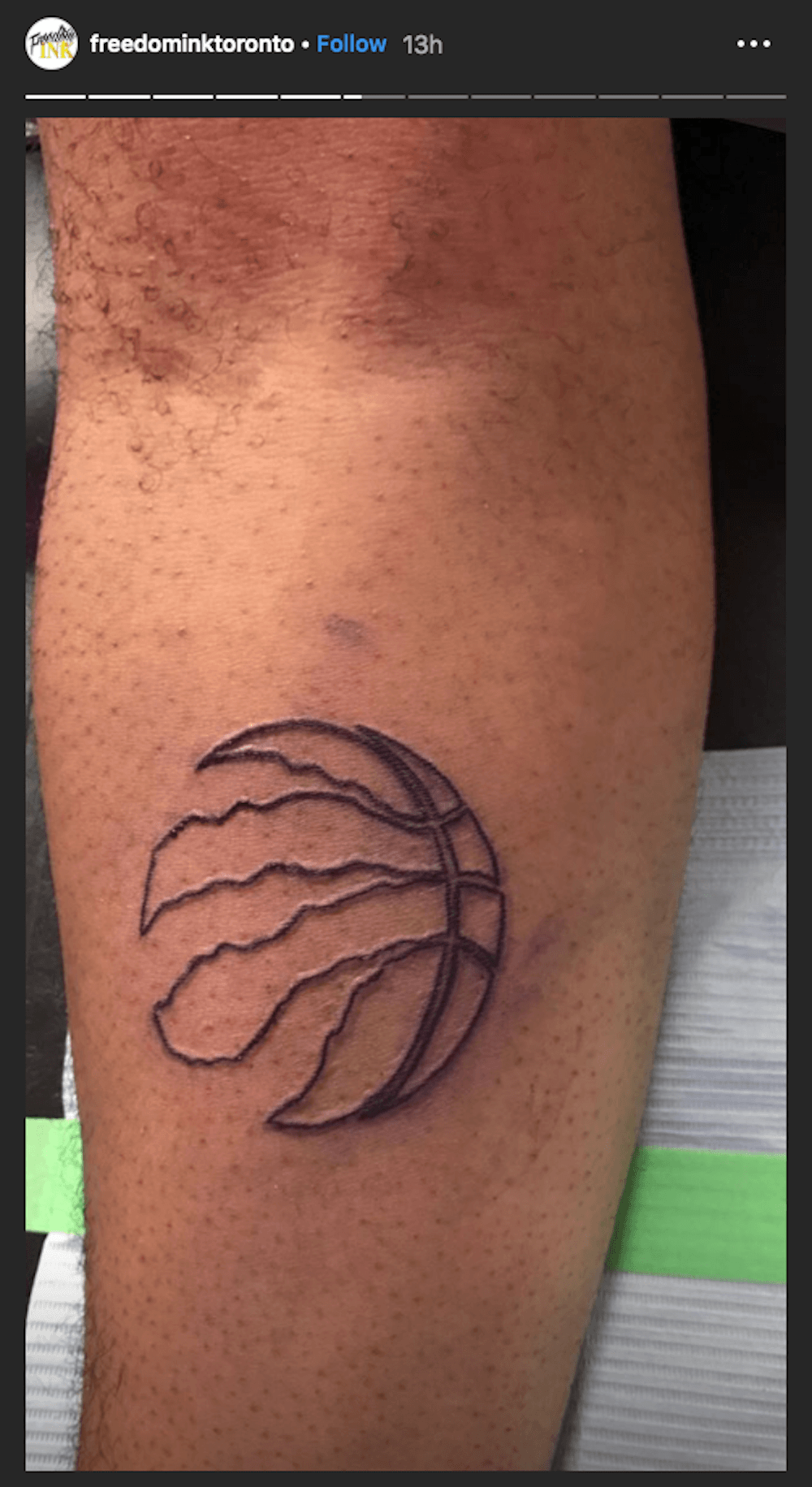 0f9762d2ed10c Here's where you can get FREE Raptors tattoos in Toronto | Daily ...