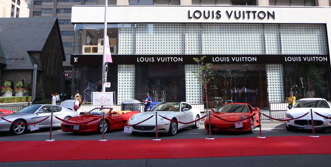 There will be an exotic car show in Yorkville this Father's Day