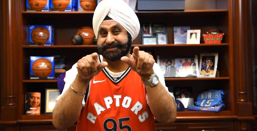 Superfan Nav Bhatia reacts to Raptors moving to Tampa Bay