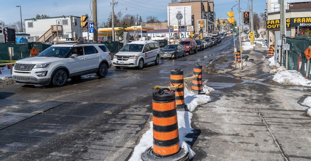 A Toronto street was voted CAA's worst road in Ontario