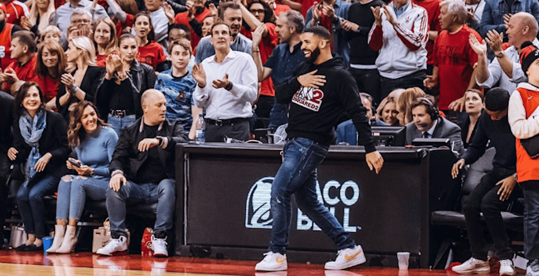 The NBA reportedly spoke to the Raptors about Drake's behaviour during games