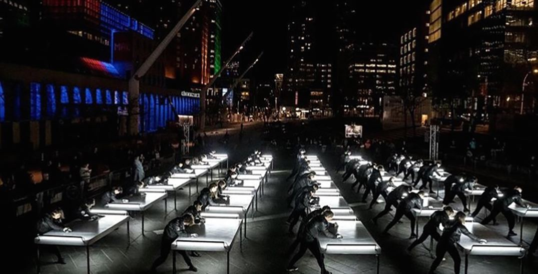 There's a FREE 60-person choreographed dance show happening this weekend in Montreal (PHOTOS)