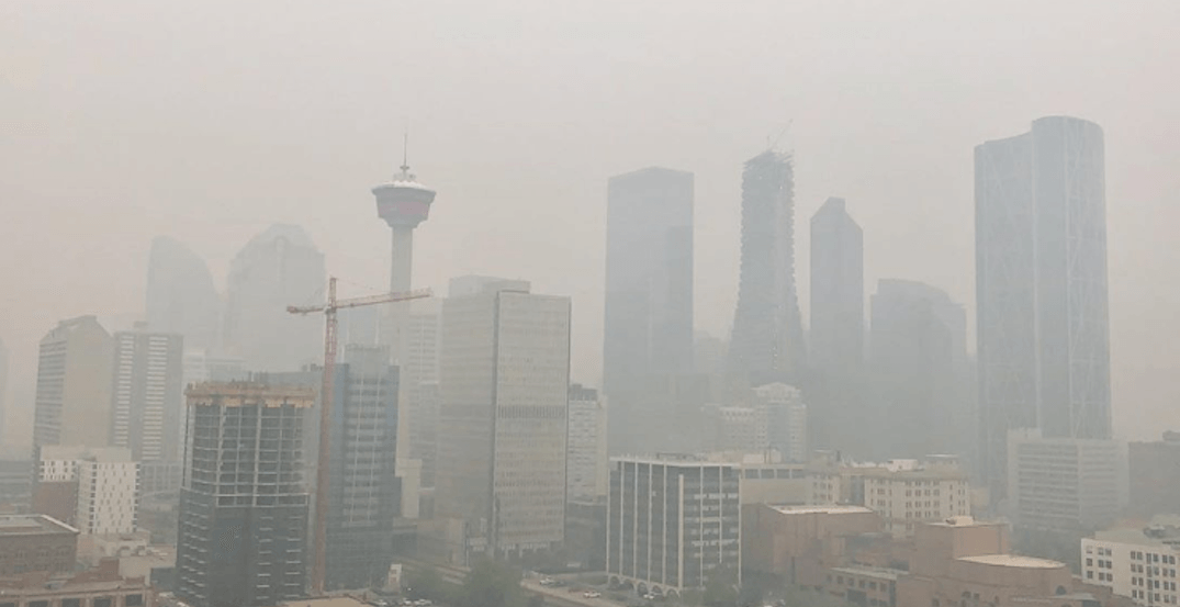 Air quality advisory for Calgary currently set at 'very high risk'