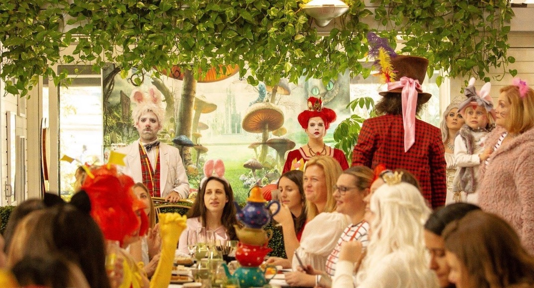 A big boozy Mad Hatter Tea Party is officially coming to Vancouver