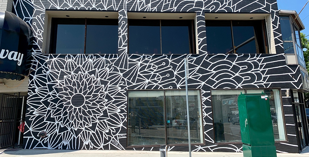 This new flower mural in Kitsilano needs to be on your Instagram (PHOTOS)