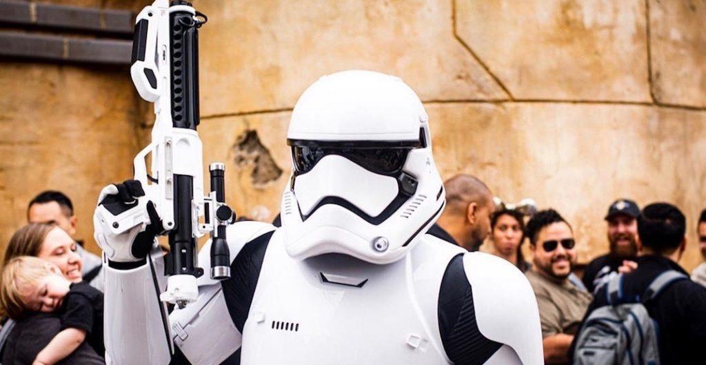 Star Wars park opening weekend
