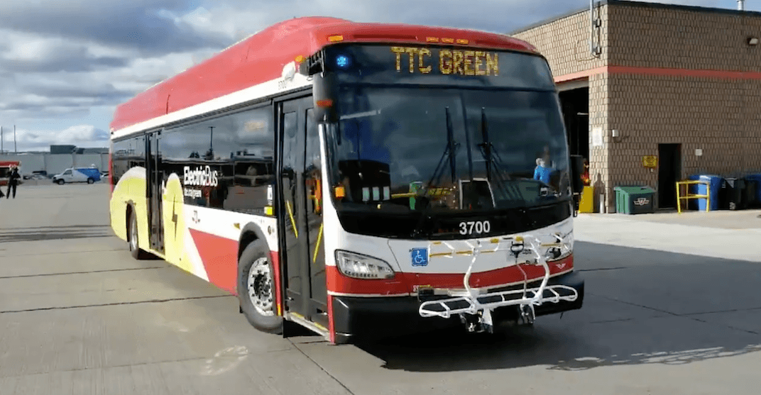 TTC rolling out more all-electric buses this weekend