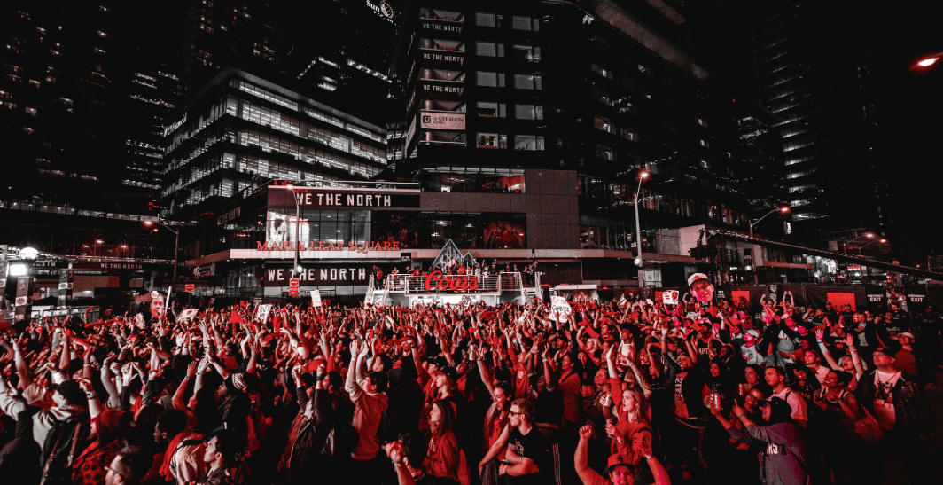 Massive Raptors Tailgate party causing multiple road closures tonight