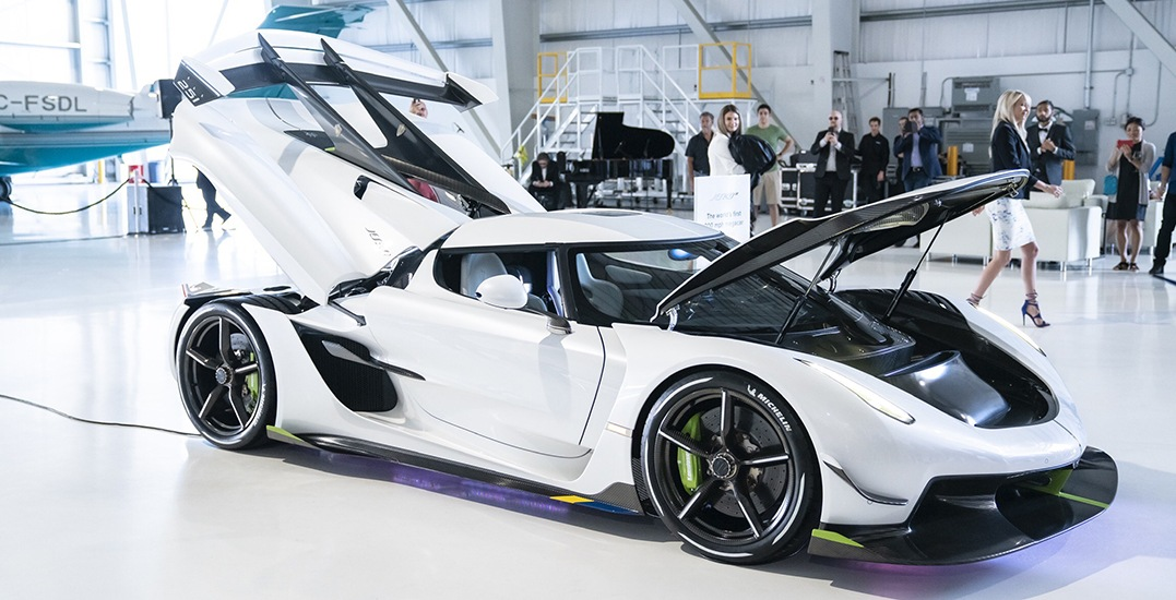 $3.7 million supercar makes its Canadian debut in Vancouver