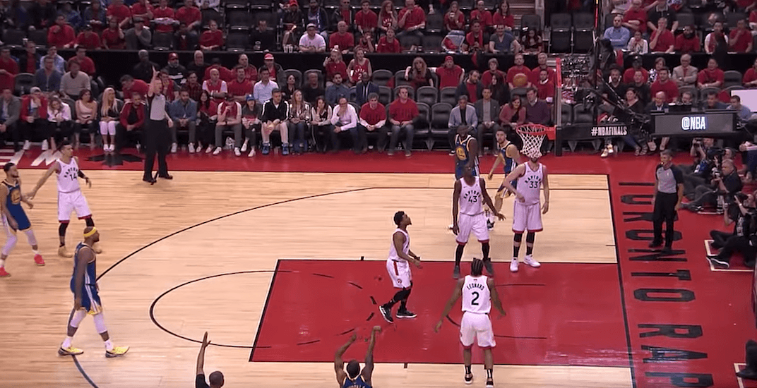 Raptors fans late to their seats are getting blamed for 3rd quarter collapse