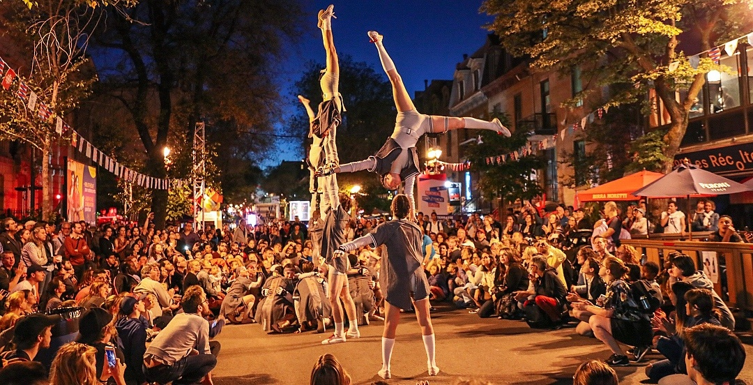Montreal's circus festival returns to the Quartier des Spectacles from July 4 to 14