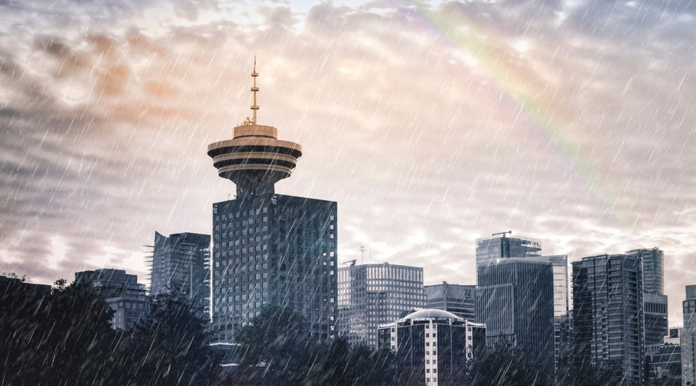 Vancouver forecast calling for 3 straight days of rain
